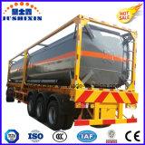 Envase resistente del tanque de los Tri-Árboles para transportar el petróleo crudo/el combustible diesel de la gasolina
