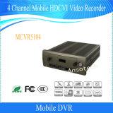 Canaleta Hdcvi móvel DVR de Dahua 4 para o carro/barramento/trem (MCVR5104)