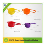 PC 8PCS Sweet Color Plastic Mixing Bowl de Grade Plastic do alimento