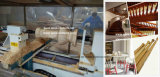 Torno de giro de madeira da escadaria de madeira de madeira do torno