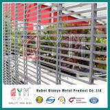 358高い安全性の刑務所のための塀によって溶接される反上昇の防御フェンス
