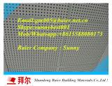 Tarjeta laminada PVC perforada del techo del yeso