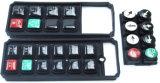 NBR/Silicone Gummisilikon-Tastaturblock-Neopren-Auflage in der RoHS Bescheinigung