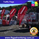Individuelle Werbung Strand Fin Flags für Outdoor Promotion
