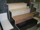 Treppenhaus-Treppen-Geländer-Fußboden-Fliese des Granit-G687 für Hauptdekoration