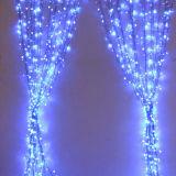 Indicatore luminoso decorativo bianco caldo della tenda della stringa del LED