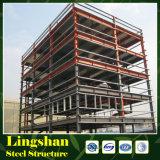 Fabbrica d'inquadramento della struttura d'acciaio di disegno dell'acciaio chiaro