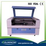 Máquina de laser de CO2 Gravação ou corte de pedra Vidro de borracha acrílica (IGL-1390)