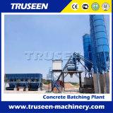 Planta de procesamiento por lotes por lotes concreta de la venta caliente para producir el concreto comercial