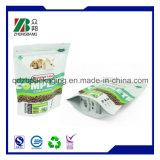Empaquetage zip-lock de poudre de protéine de papier d'aluminium