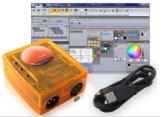 Sunlite2 USB DMX 512 관제사 풀그릴 가벼운 관제사