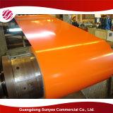 JIS G3312 En10169 ASTM A755/A653 PPGIは電流を通された鋼鉄コイルをPrepainted