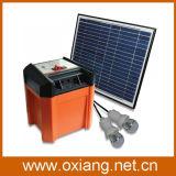 Mini superventas DC12V cargador solar (SP3) Built-in de la batería del generador