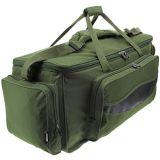 Grande saco verde ao ar livre ajustável isolado durável do equipamento de pesca da cinta de ombro