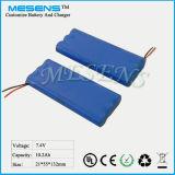 7.4V 10ah Li-Ionindustrielle Batterie