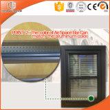 Ventana de madera del marco de la teca para el chalet, la inclinación de aluminio de la rotura termal de madera de la teca de Inswing de la alta calidad y la ventana de la vuelta