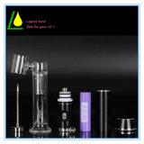L'atomiseur en verre G9 de cire de pipe de Cig d'E sèchent le vaporisateur d'herbe