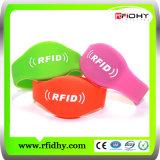Wristband direto do silicone da fábrica RFID da microplaqueta Ntag213