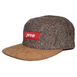 Kundenspezifische Veloursleder-Rand-Hip Hop gesponnene Änderung- am Objektprogrammhanf-Hut-Schutzkappen