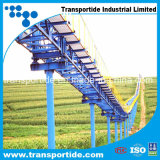 Hohe Aufgaben-Stahlnetzkabel-Förderband