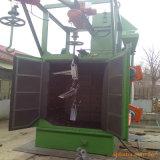 Máquina de anzuelo rotatoria de acero de la limpieza del chorreo con granalla
