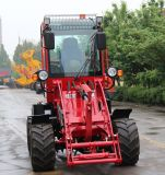 Neues Wheel Loader mit Steel Weight Stack Zl10 Mini Tractor mit Weight Stack