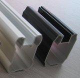 Perfil material de alumínio do alumínio da construção da fachada