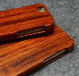 Caixa de madeira de bambu do telefone para o caso da tampa do telefone móvel do iPhone 6/6s