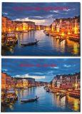 卸売2016キャンバスのヨーロッパ人の町の最新のLEDの軽い油絵