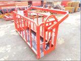 Stahlaufzug-hängende Gondel-Aufbau-Reinigungs-Aufnahmevorrichtung