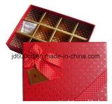 Rectángulo de regalo del chocolate/chocolate de papel de gama alta que empaqueta el precio bajo Jd-CB051