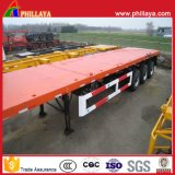 Phillaya 2-3 Axles 20FT 40FT Flatbed Container Trailer