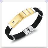 De rubber Armband van het Silicone van de Band van de Pols van de Armband (LB222)