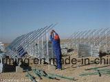 Rack solaire rouleau formant la machine Ligne