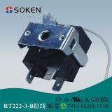 El calentador del patio de Soken parte el interruptor rotatorio de la cuerda de tirón de 12 posiciones