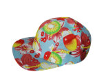 黒い花の側面5panelsの帽子のキャンプの帽子の最高の平穏無事な生活Huf (QZ-LW-010)