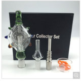 2016 Waterpijp van het Glas van het Uiteinde van de Uitrusting van de Collector van de Nectar de Duidelijke