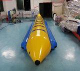 12 Personen-aufblasbares Wasser-Bananen-Boot für Verkaufs-aufblasbares Towable Bananen-Boot