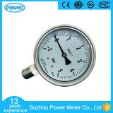 100 mm Liquide inférieur compose compacte Calibre de pression En837-1