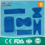 Atadura elástica azul da ferida da tela para a indústria alimentar (BL-007)