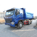 De linker Vrachtwagen van de Stortplaats van het Wiel van de Aandrijving van de Aandrijving 6X4 HOWO A7