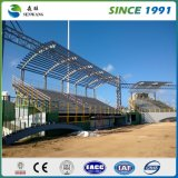 Estructura de azotea de acero en China para el almacén