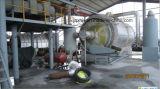Nuevo sistema de la pirolisis del neumático de la tecnología que consigue el petróleo brillante del color