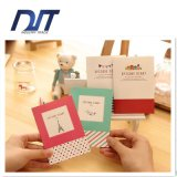 Cahier promotionnel d'OEM le mini personnalisent le cahier bon marché