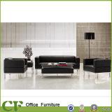 別の様式のオフィス用家具のラウンジPUの革ソファー