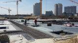 Materiale di tetto impermeabile dello strato del PVC dell'anti garage UV con l'iso (blu)