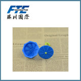 Grüner Silikonstainer-Tee-Grobfilter-Form-Regenschirm