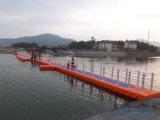 Drijvende HDPE Jachthaven met Leuning