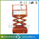 tables élévatrices mobiles de mini levage hydraulique 4m électrique de ciseaux de 3m
