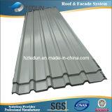 Panneau de voie de garage ondulé en aluminium
